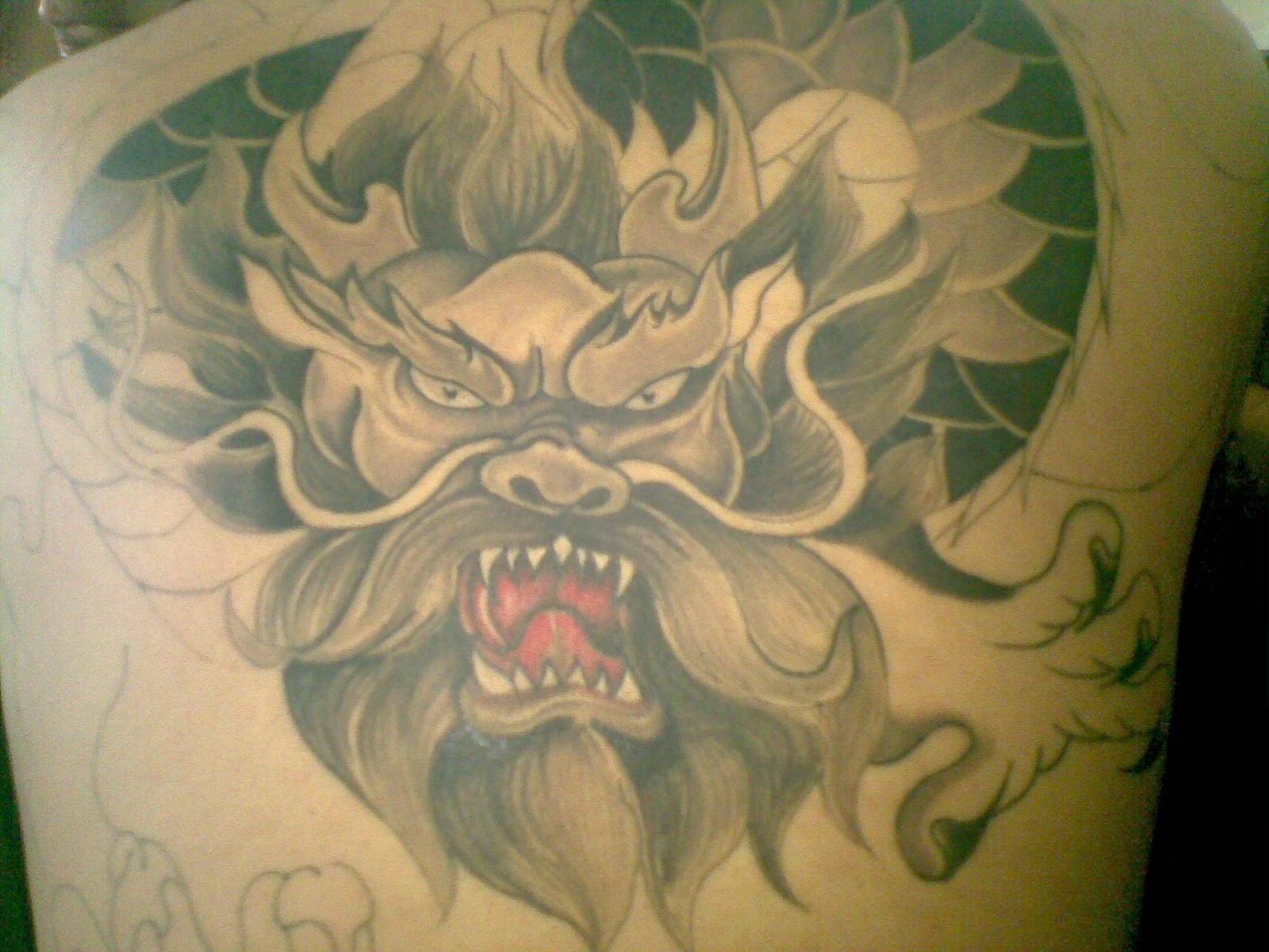包小臂牡丹花纹身手稿分享展示 (1600x1200)图片