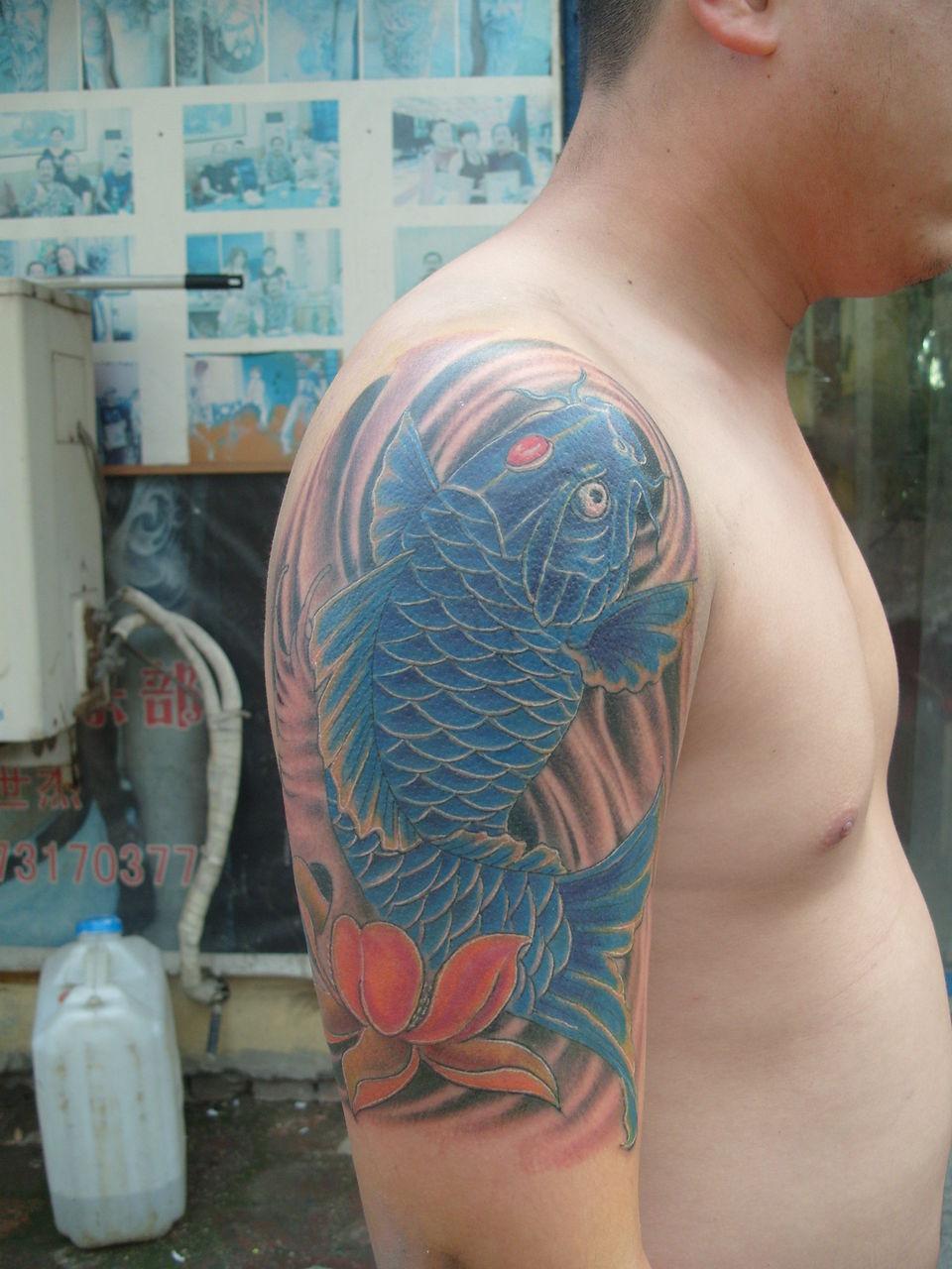 现在流行什么纹身呢?图片