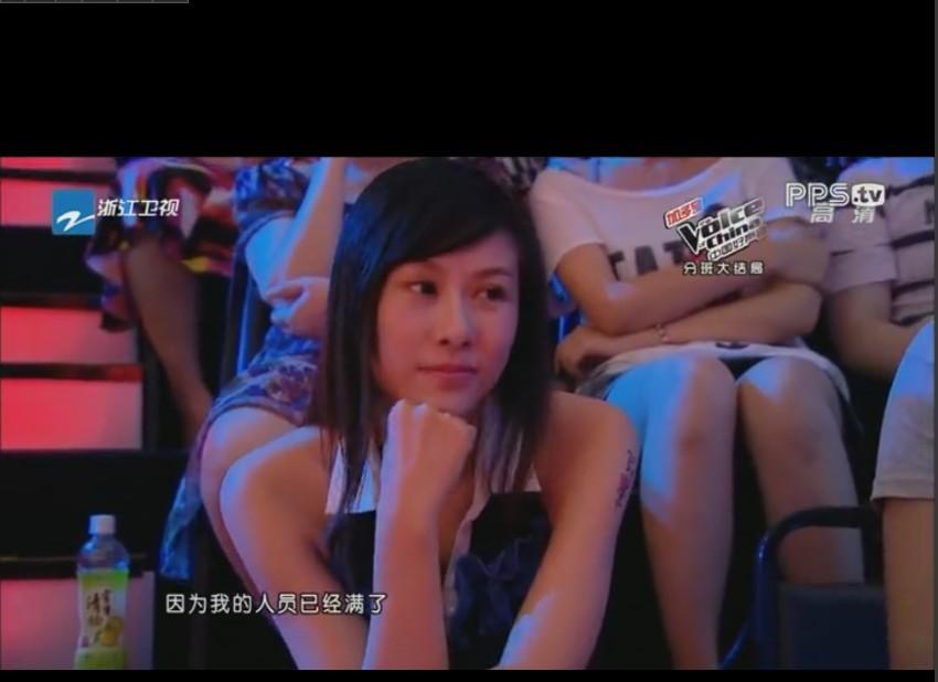 中国好声音的观众美女
