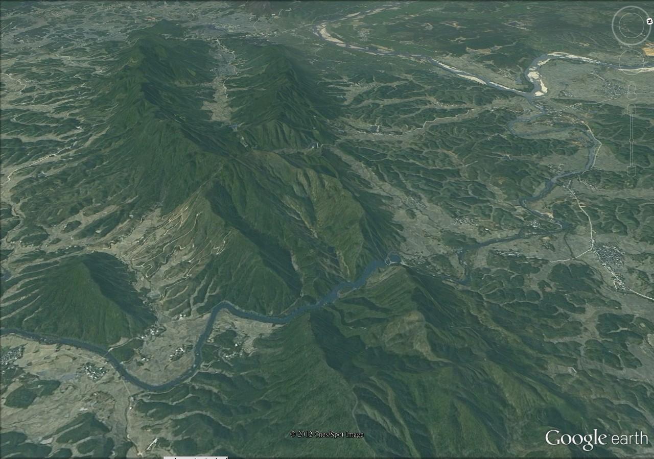 谷歌卫星地图寻龙点穴