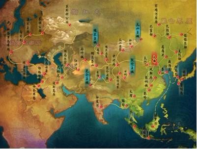 后来的蒙古帝国加上四大汗国总面积占当时世界领土图片