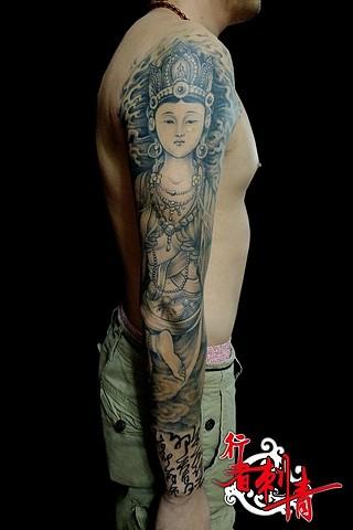 佛教题材_纹身吧_百度贴吧图片