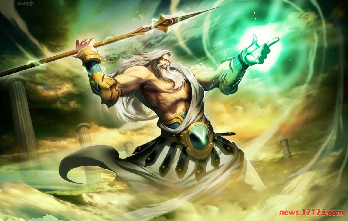 希腊神话中的众神之父图片