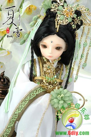 古装 sd娃娃和古装