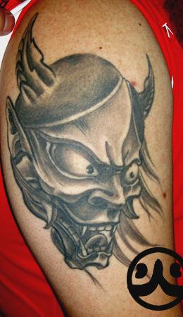 佛变骷髅纹身手稿线条分享展示图片