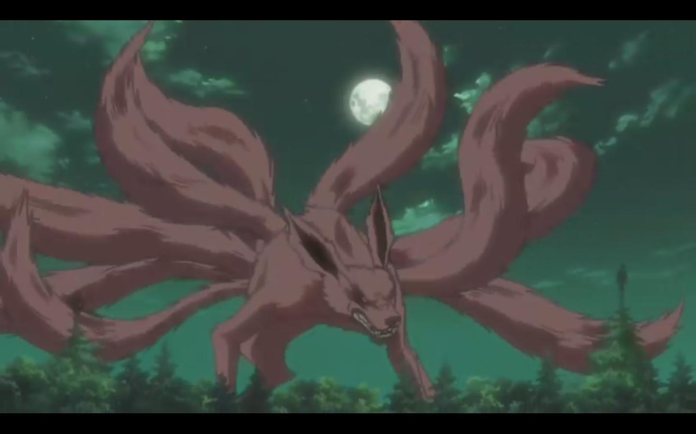 火影中的九尾妖狐 火影忍者九只尾兽图片 高清图片