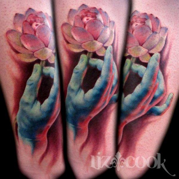 美国女纹身师