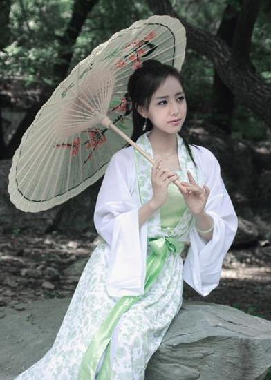 绝色颜☆★倾天下^『0415\贴图』古装剧中撑伞的美女