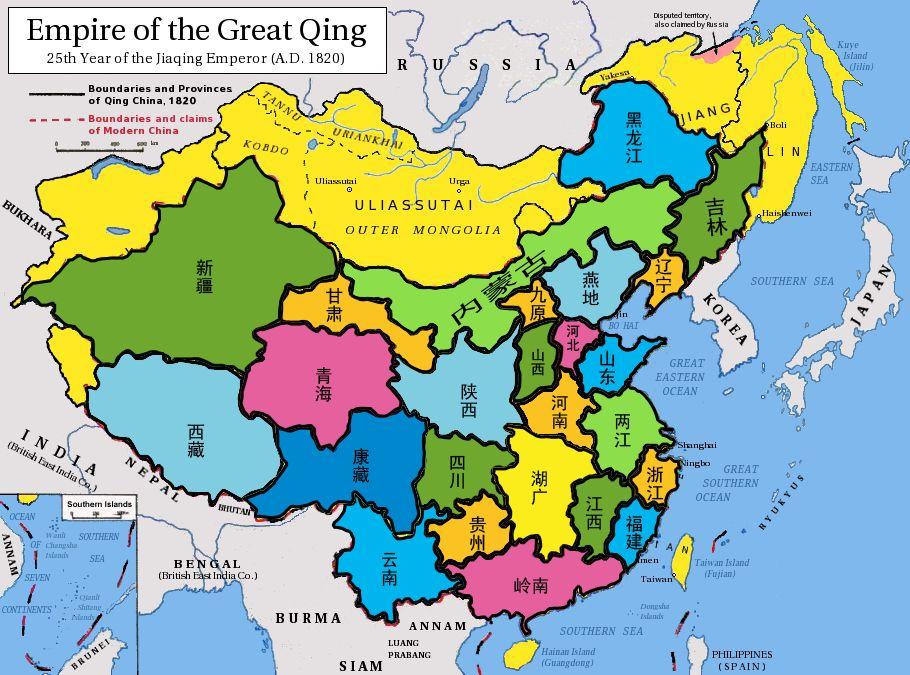 理想划分 大国行政区图片