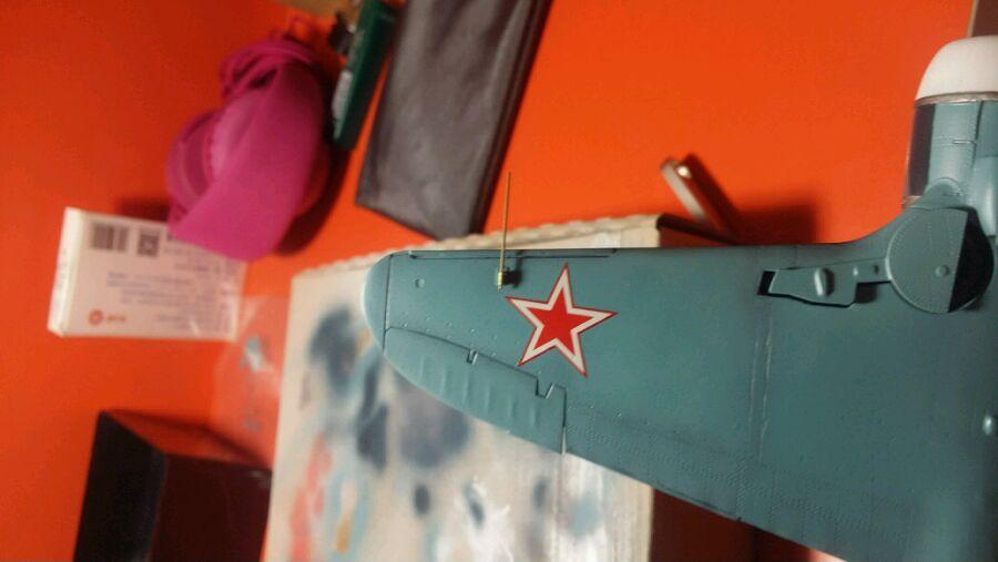 【 06-29 战机】苏联王牌战机——拉5战斗机,静改动.图片