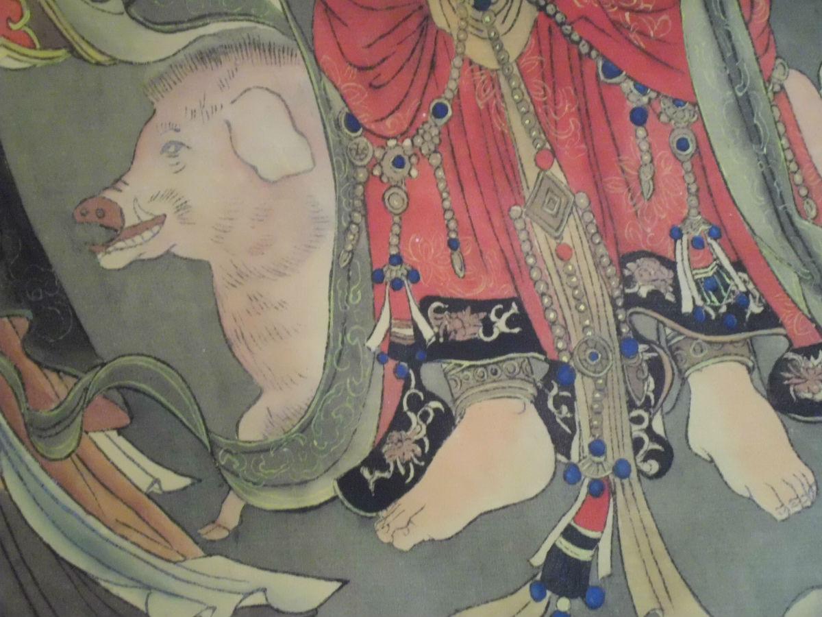 法海寺壁画可与敦煌壁画媲美图片