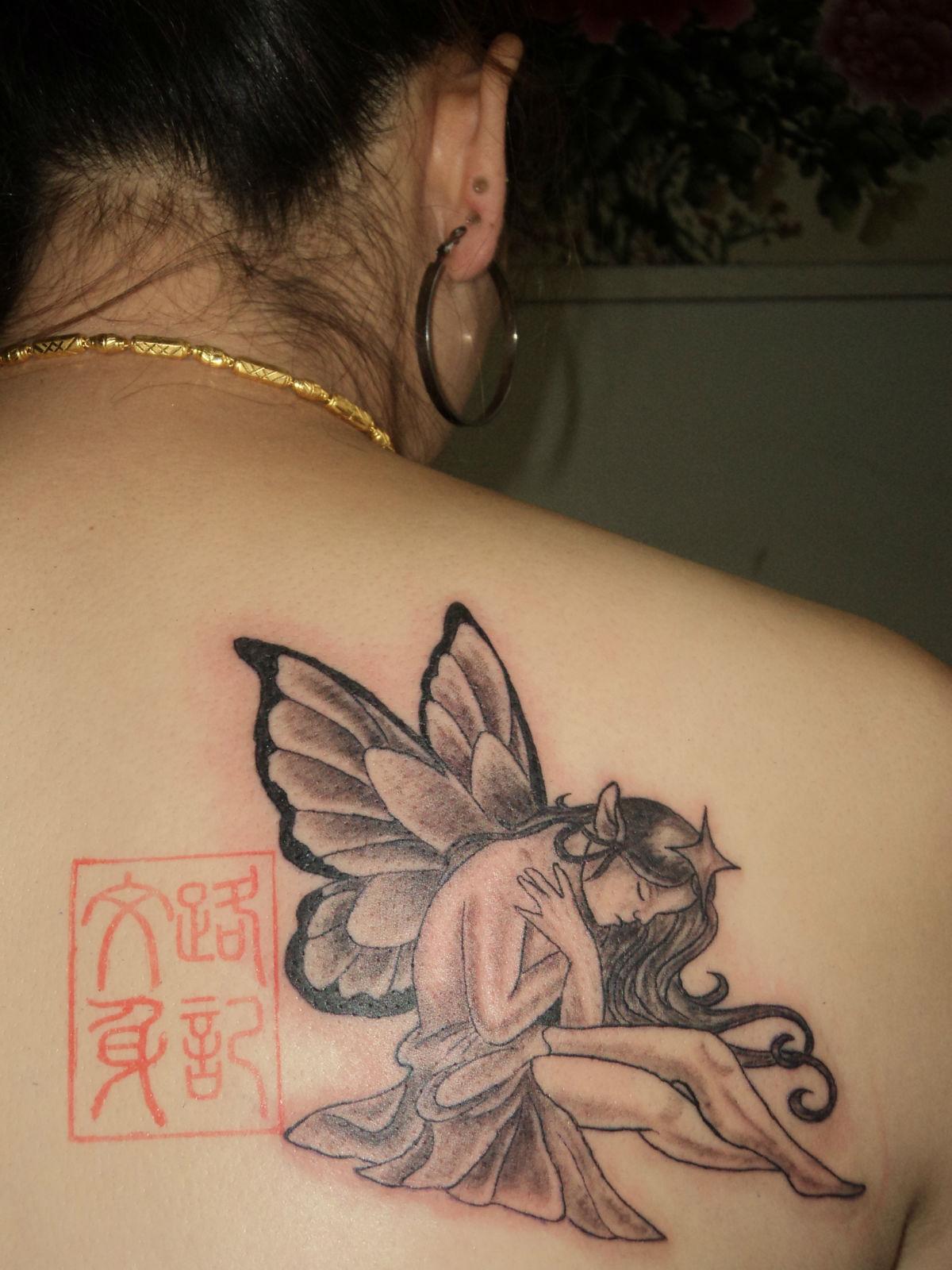 我想纹身,纹一个图案:永远不再相信男人,不再请问代表的爱情,相信应厦门软件学院室内设计图片
