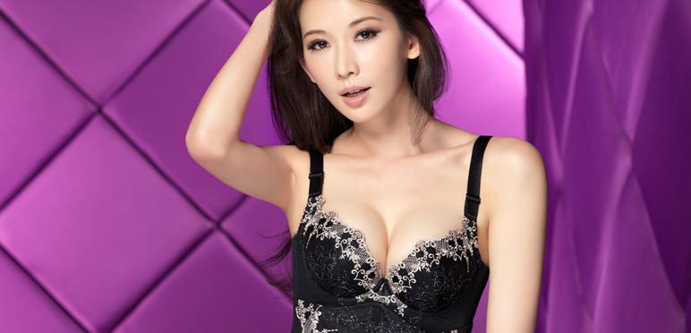 林志玲代言都市丽人内衣图片