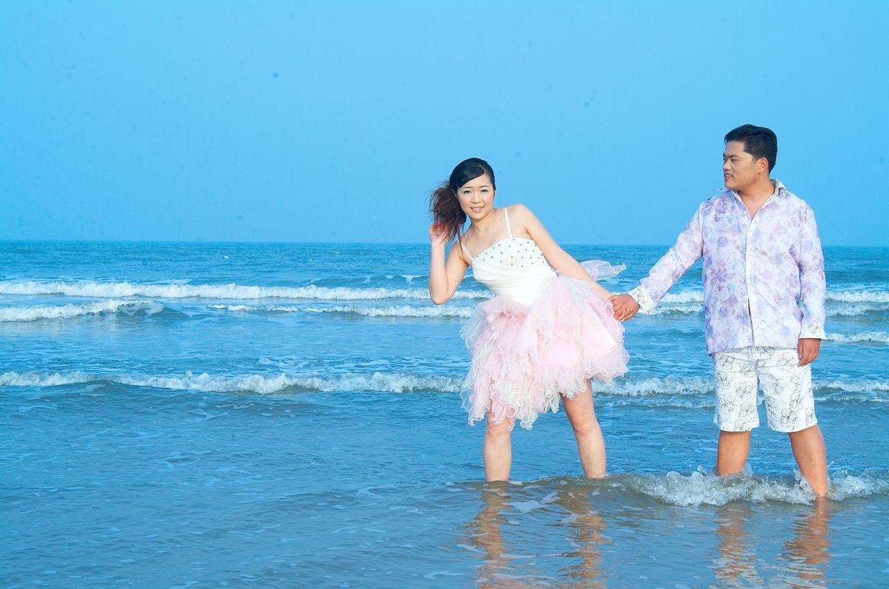 薇薇新娘婚纱摄影 水婚纱摄影 90韩婚纱摄影 薇薇新娘婚纱图片
