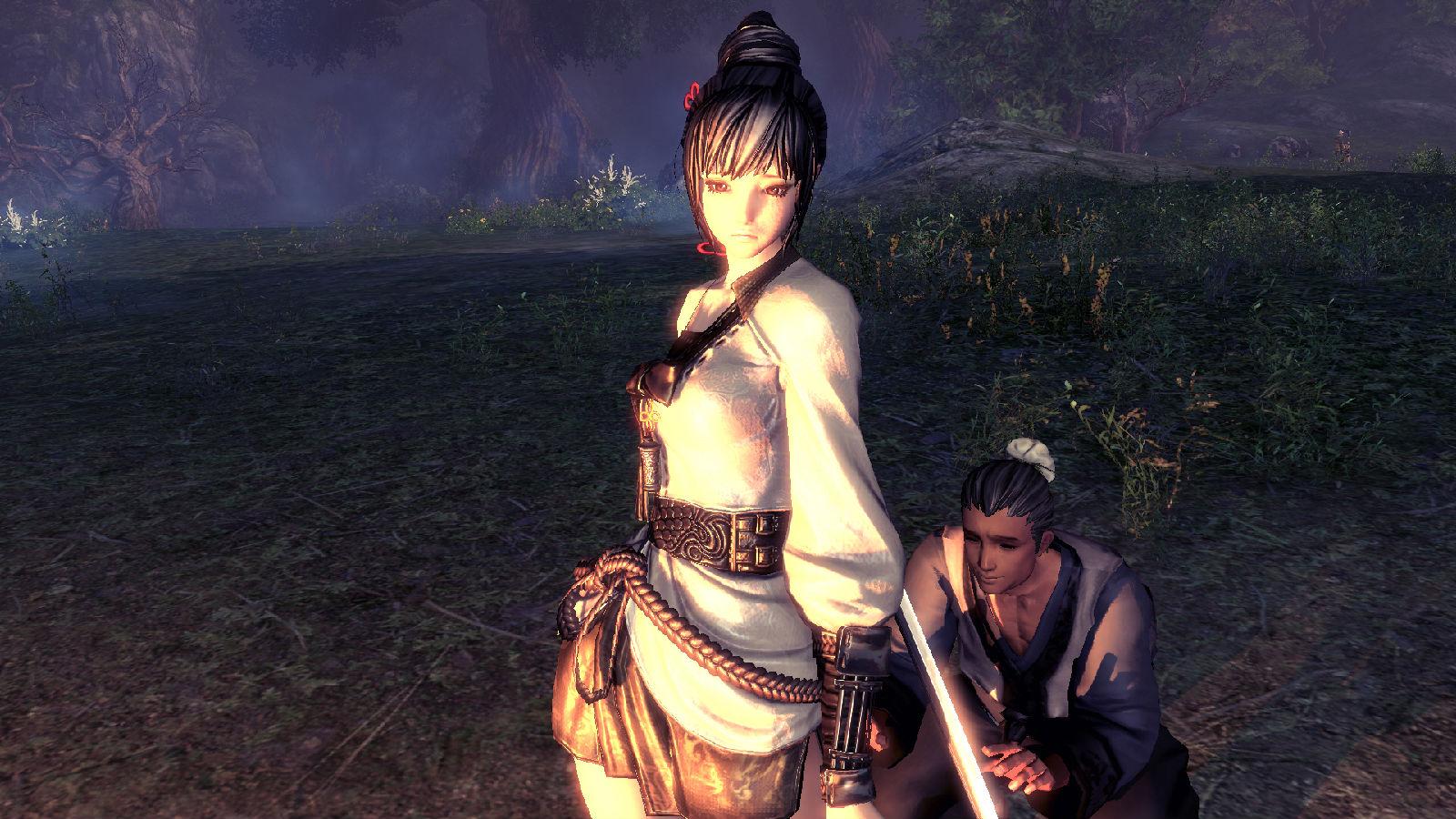 谁有剑灵中美女图片