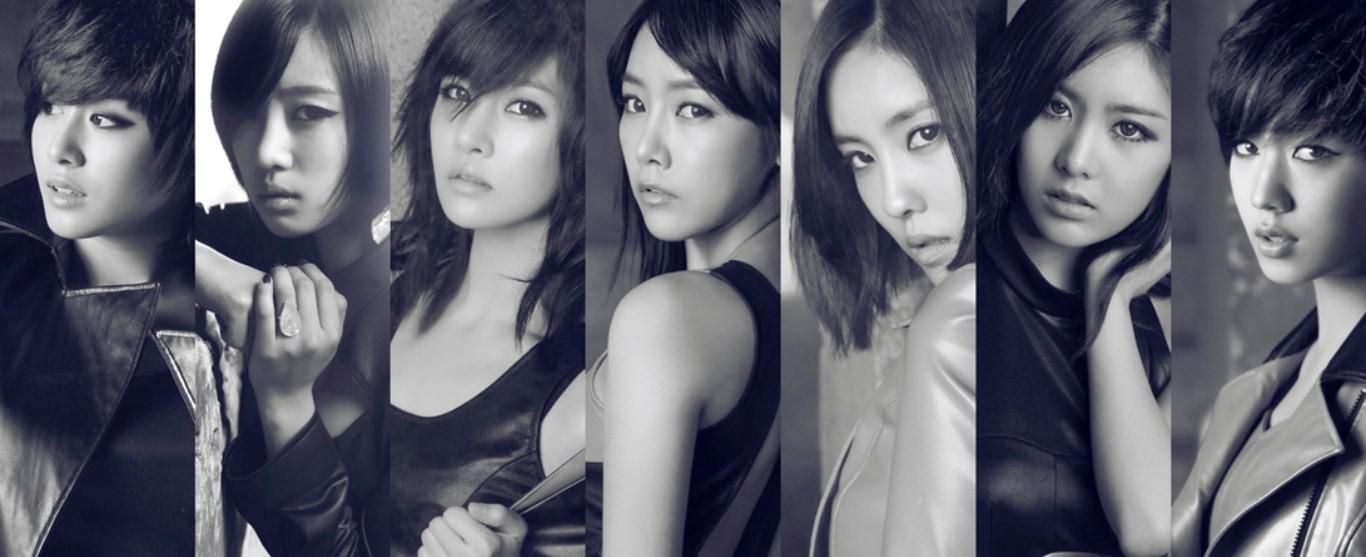 韩国女子组合相貌排名