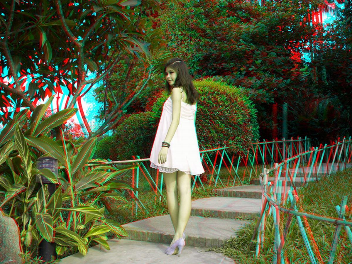 【红蓝3d图片】一组美女图