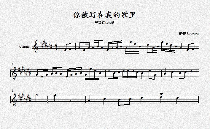 琴谱放到虫虫钢琴网图片