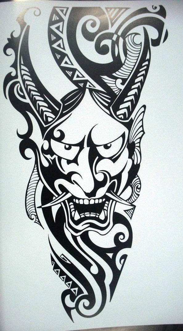 画纹身黑白无常分享展示图片