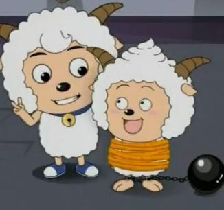 果然懒羊羊被抓了,后来看到喜羊羊图片