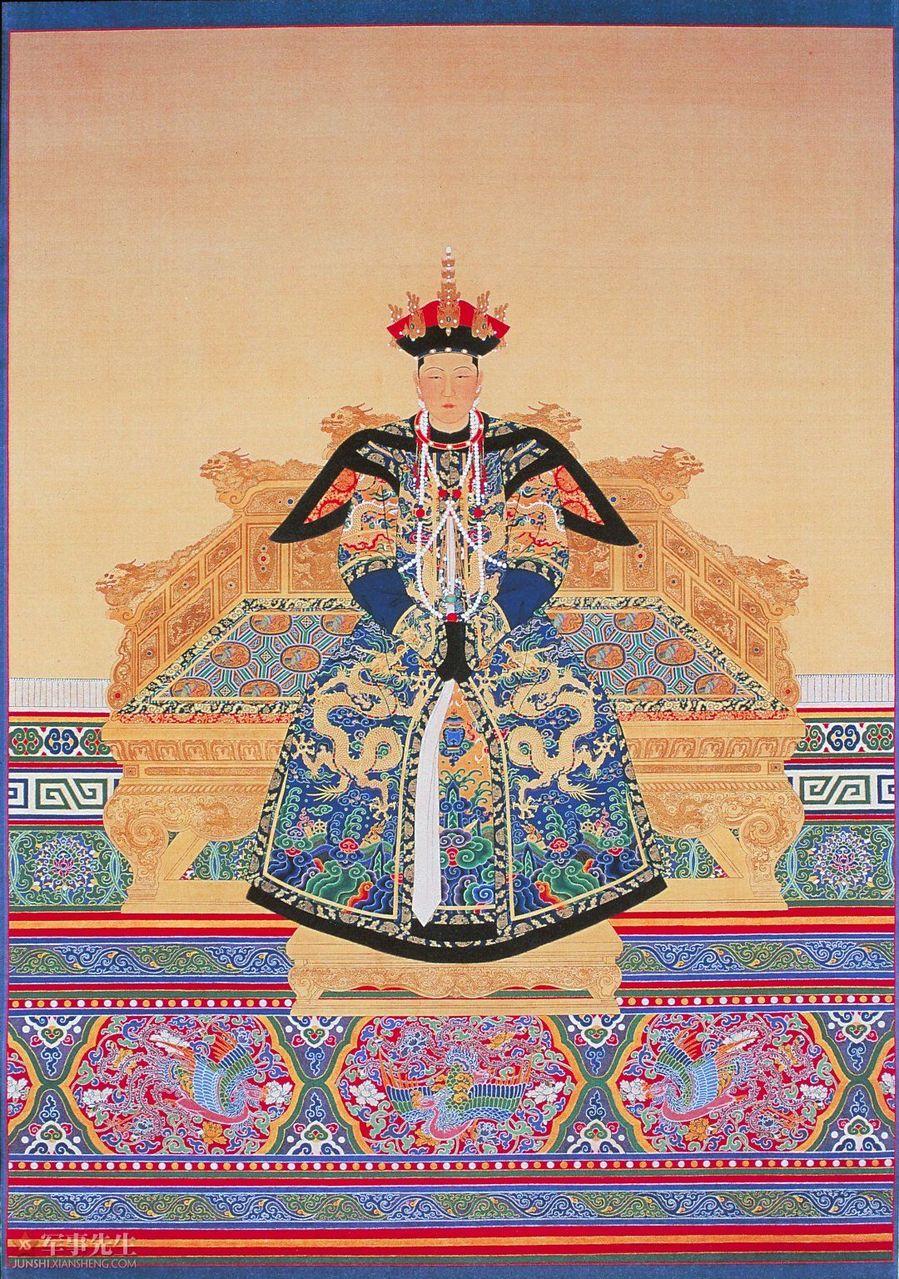 谁知道清代历代皇帝? 图片