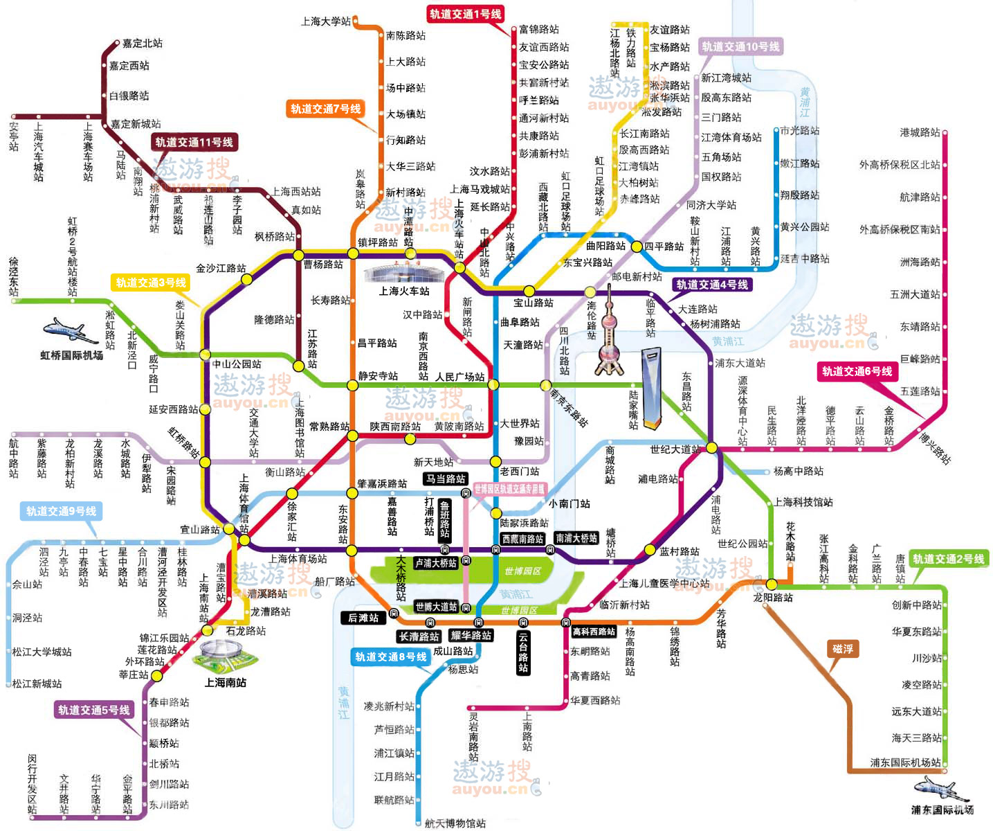北京地铁线路图高清