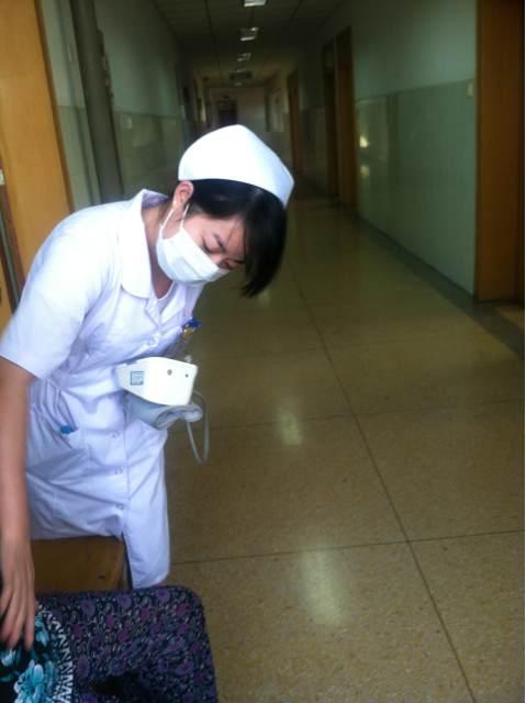 浏河医院美女护士