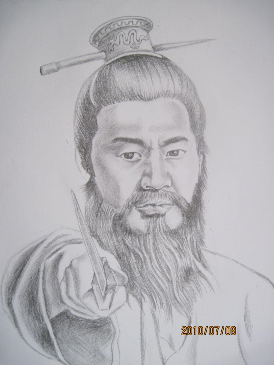 纹人墨客纹身手稿图片