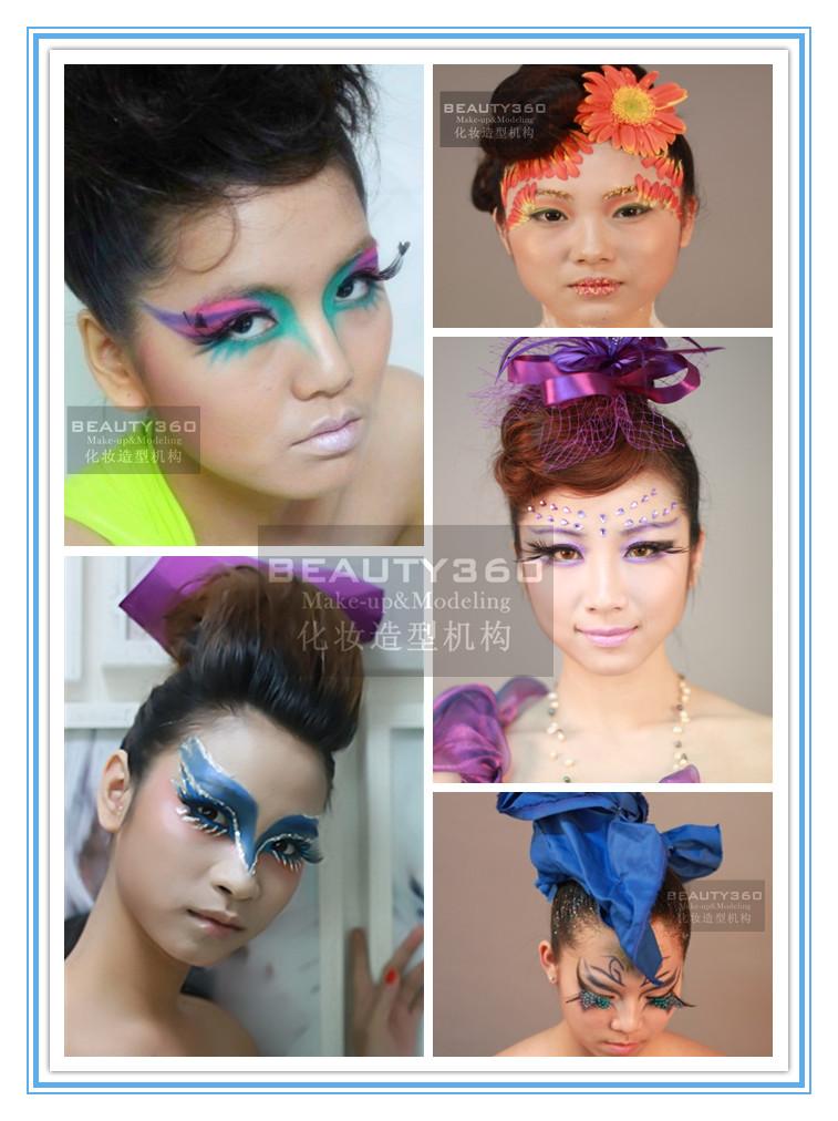 欧式等异国风格到中国传统唐朝的妆面造型图片
