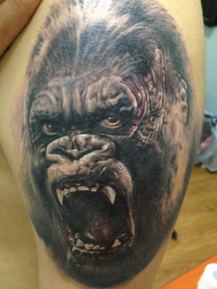 经典猪八戒背媳妇纹身图案图片