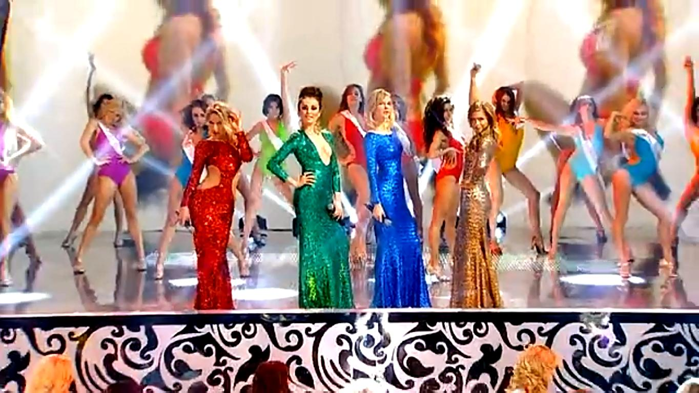 找到一个视频 四位美女唱的