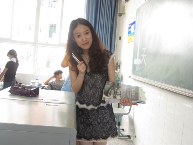 美女老师! 德阳中学吧