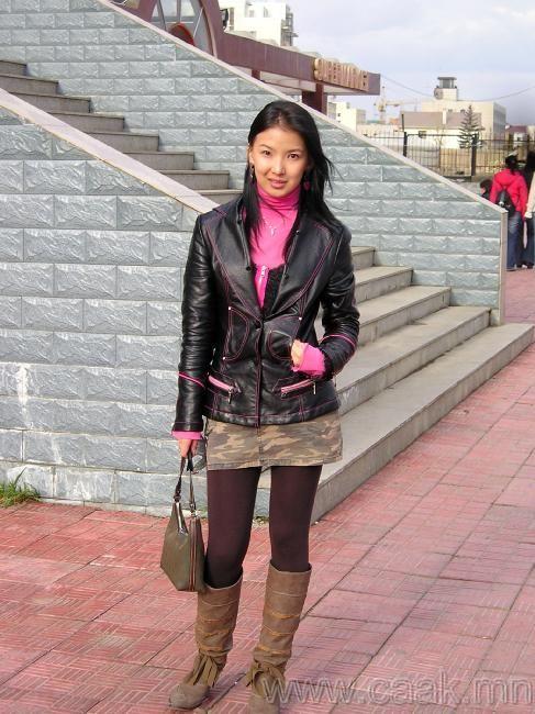 蒙古国 长腿美女组图