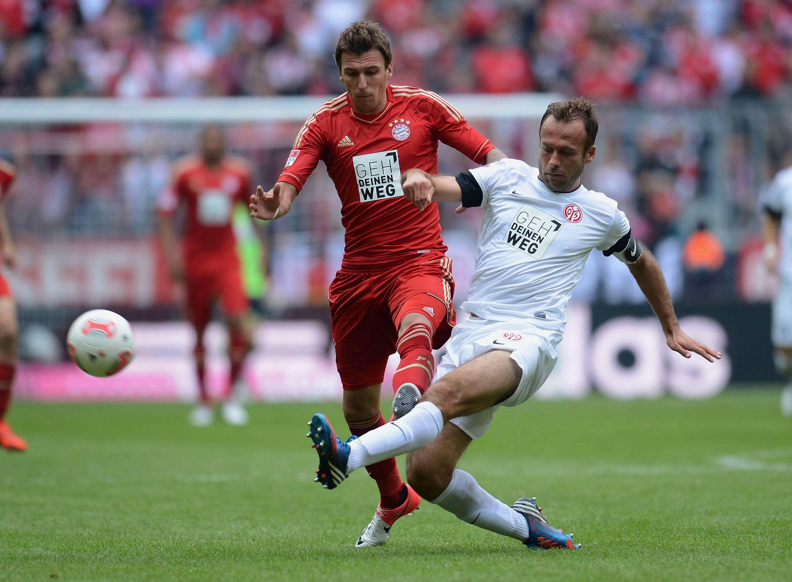 图德甲第拜仁慕尼黑对美因茨