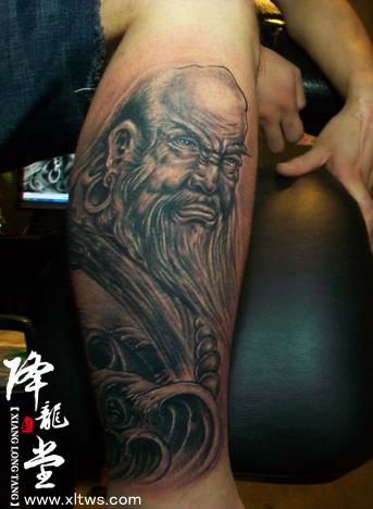 中山降龙堂纹身 《总店作品集》图片