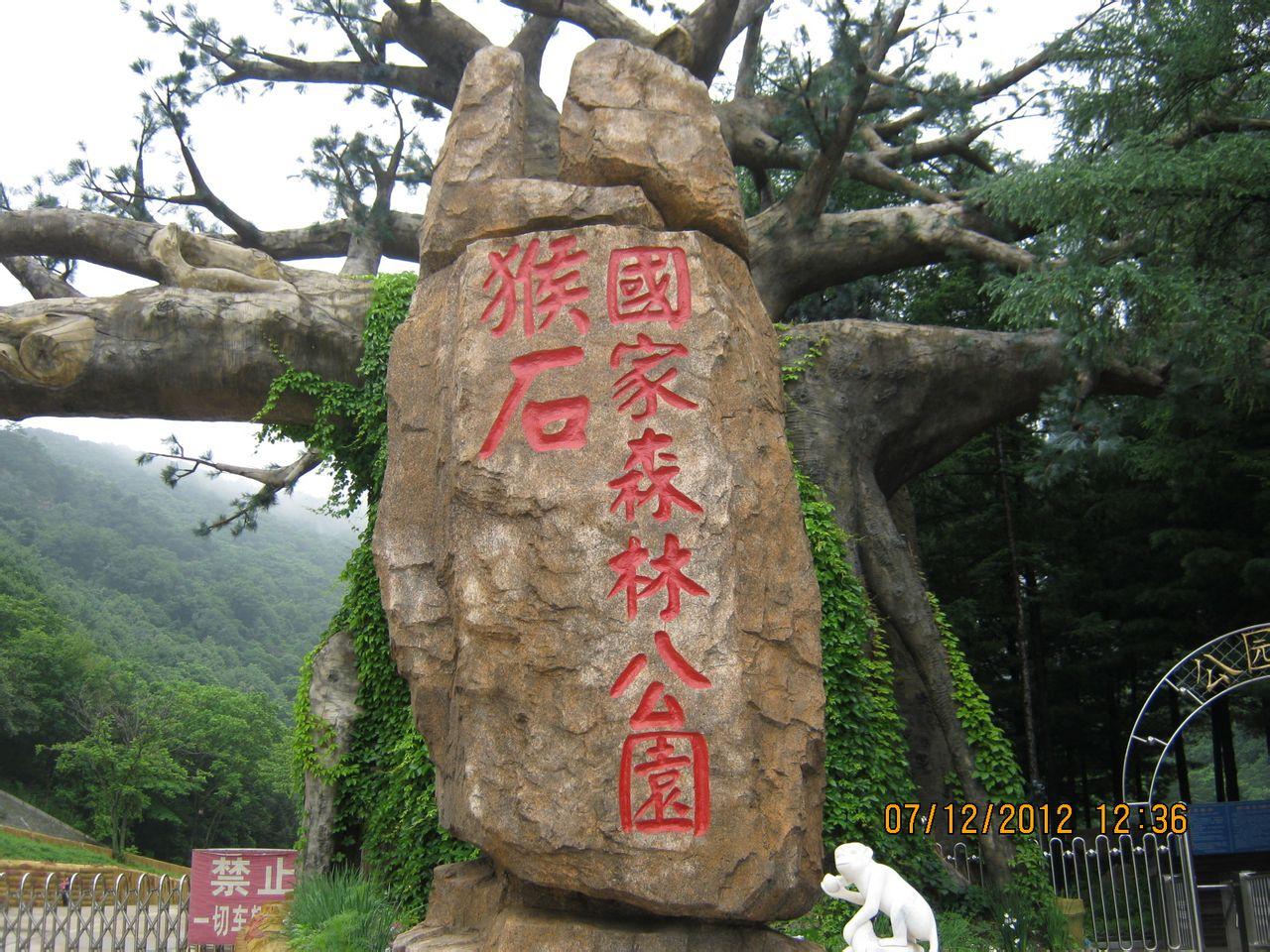 乐玩抚顺之猴石森林公园图片