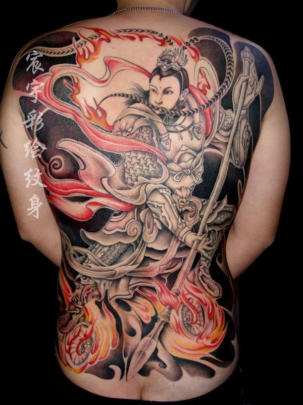 发几张后背纹身手稿-希望大家能够喜欢 (600x800)图片