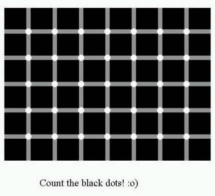 神奇的视觉错觉效果图