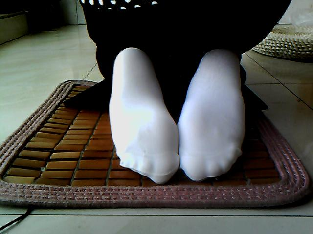白袜头美女帆布鞋白袜脚白袜高跟古代美女被斩首