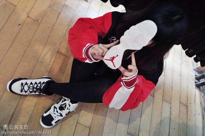 穿aj的女生下载 穿aj球鞋的女生图片