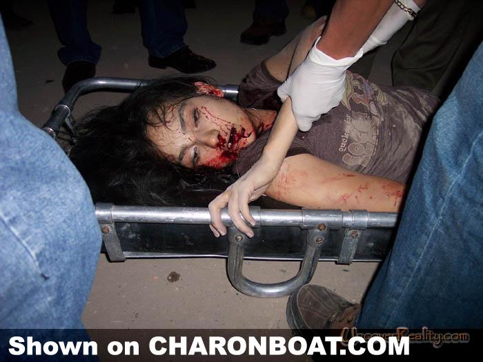 一个美女死于车祸