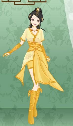 游戏古代女子