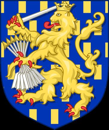 荷兰国徽中的狮子源自统治荷兰的奥兰治-拿骚家族图片