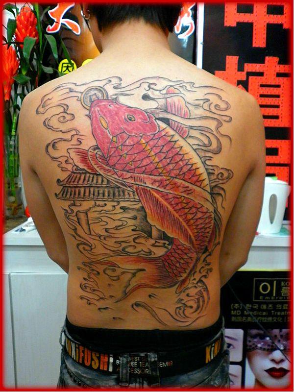 大千纹身最新作品    图片