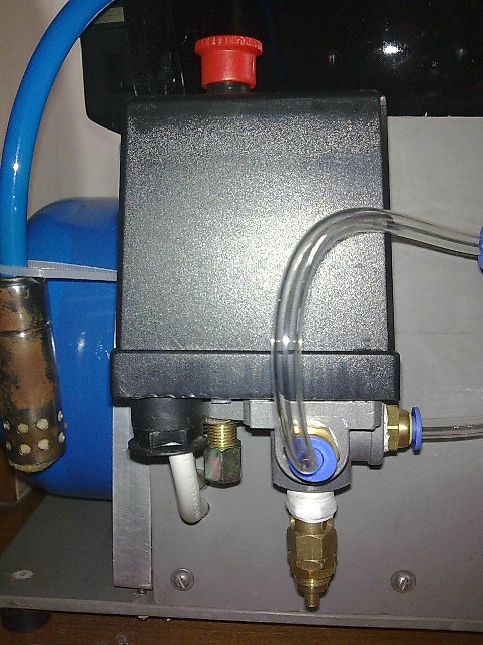 箱压缩机改气泵!图片
