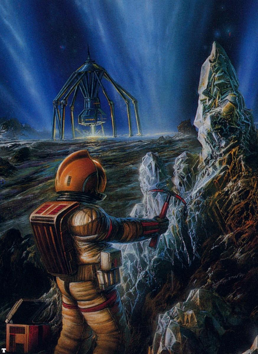 科幻画专题,曾经刊在科幻世界上的那些经典的科幻画图片