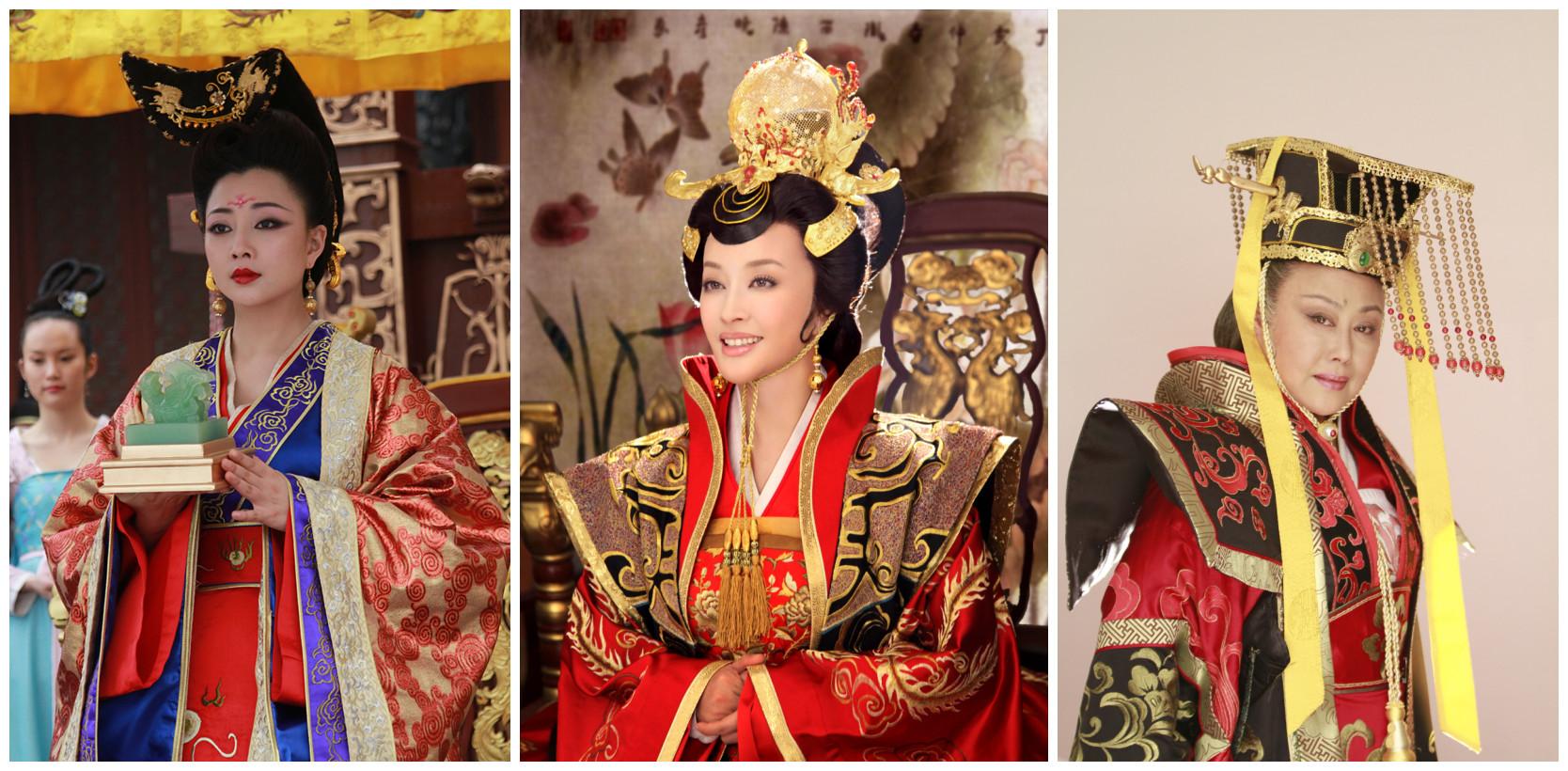 较之殷桃版的妩媚青年武则天刘晓庆的霸气年