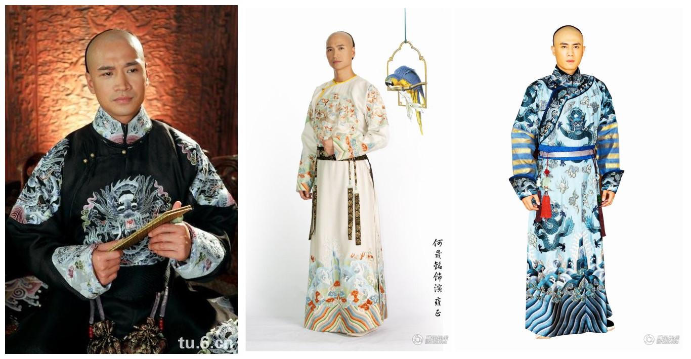 在康熙四十三年到雍正登基到果毅亲王成长为了一个看上去年届三十的熟