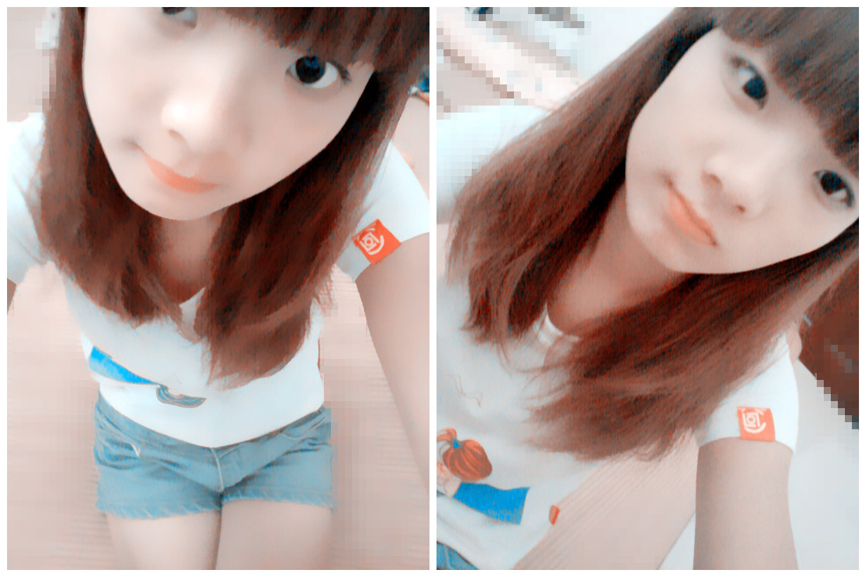 齐刘海的是萌女 美女吧