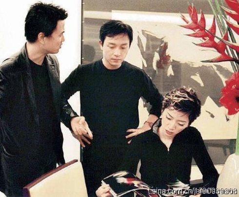 张国荣最帅的一张图片